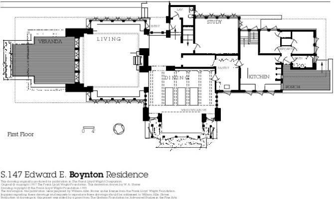Floor Plan Overview Growing Frank Lloyd