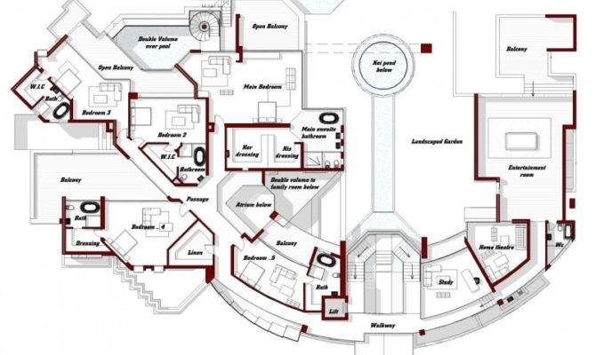 Floor Plan Second Level