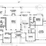 Floor Plan Single Story Extend Dining Room