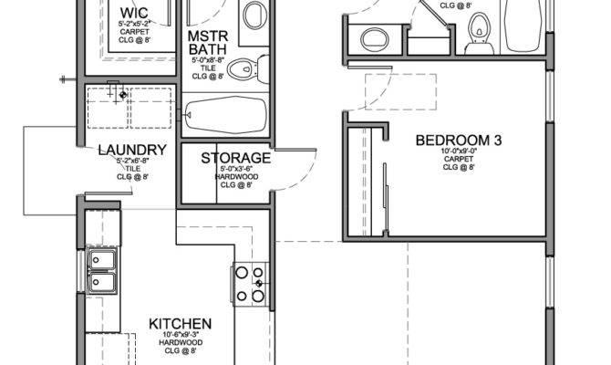 Floor Plan Small House Bedrooms