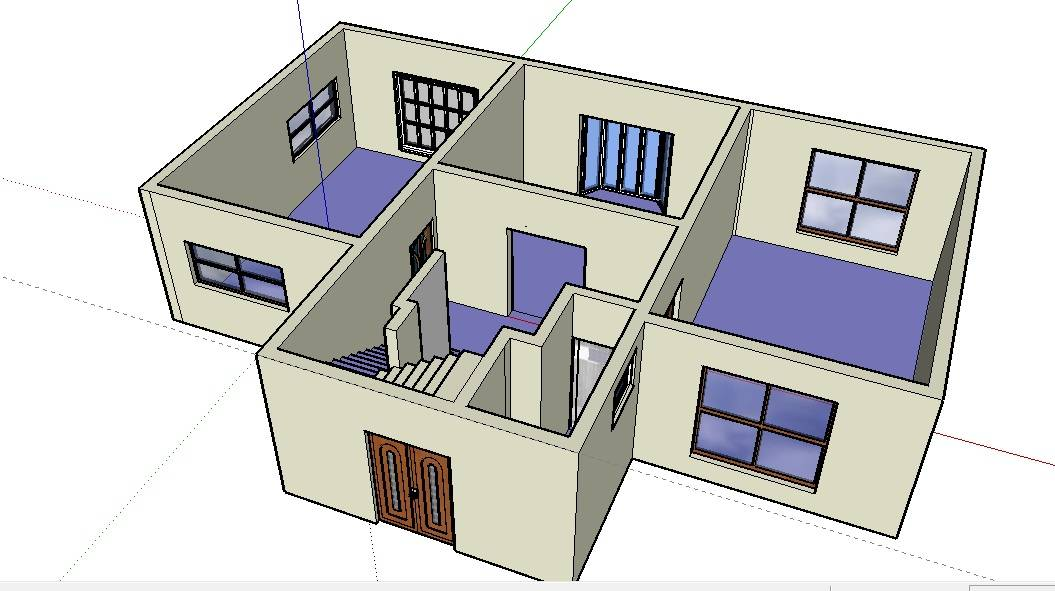 Floor Plan Software Sketchup Review House Plans 139725