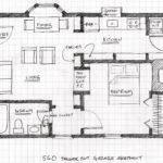 Floor Plan Square Foot Garage Apartment
