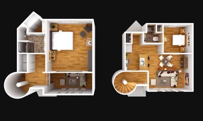 Floor Plan Storey Small House