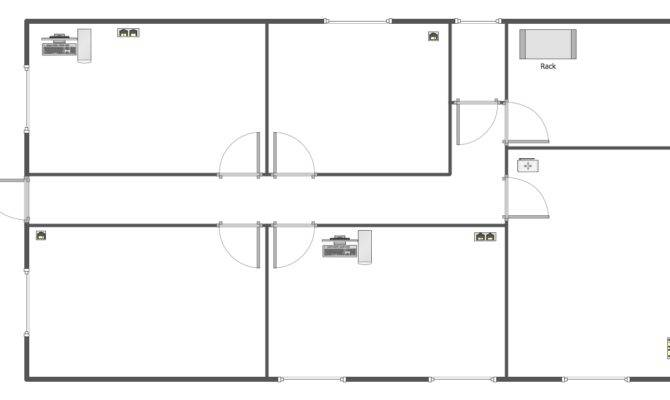 Floor Plan Template Blank Plans Templates House Plans 4084