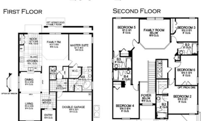Floor Plan Vacation Home Solana Resort
