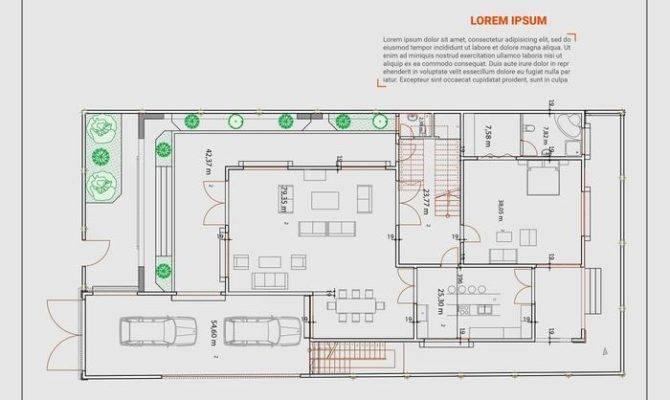 Floor Plan Vector Art