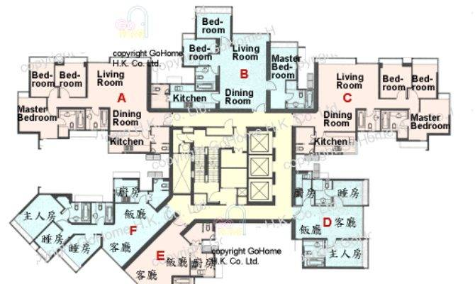 Floor Plan Waterfront Gohome