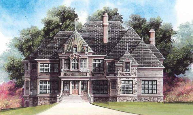 Floor Plans Aflfpw Story Chateauesque House House Plans 89559