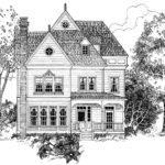 Floor Plans Aflfpw Story Victorian Home Bedrooms