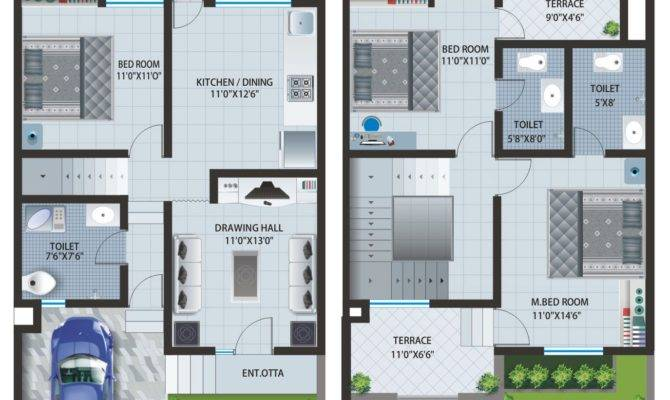 Floor Plans Apartments Row Houses Caroline Baner