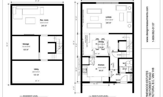 Floor Plans Basement Basic Open