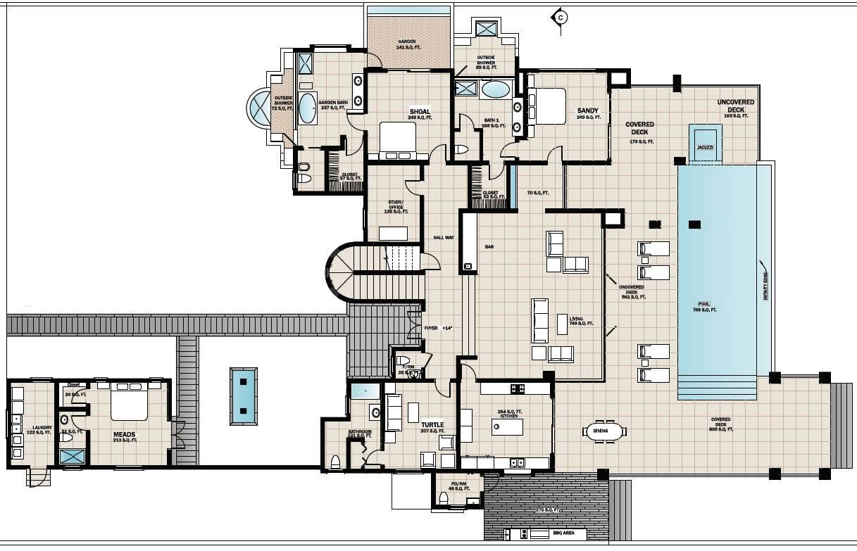 Floor Plans Beach House House Plans 113837