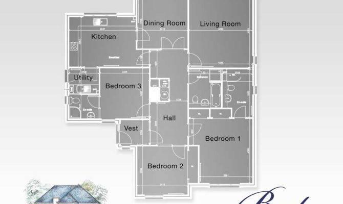 Floor Plans Bedroom Bungalow House Philippines House Plans 6735