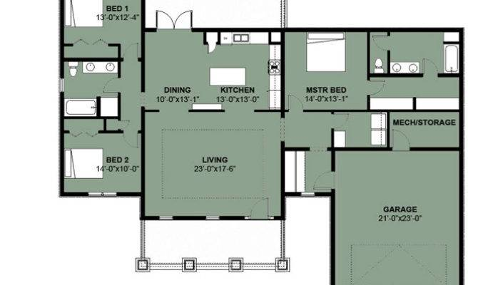 Floor Plans Bedroom House Plan