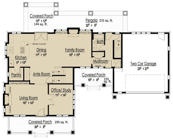 Floor Plans Bungalow Attached Garage Homes Zone House Plans 138270