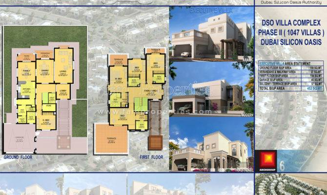Floor Plans Cedre Villas Silicon Oasis Dubai