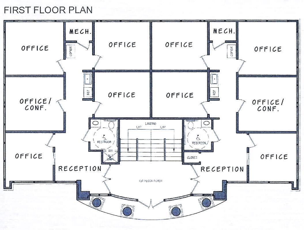 Office Building Floor Plans