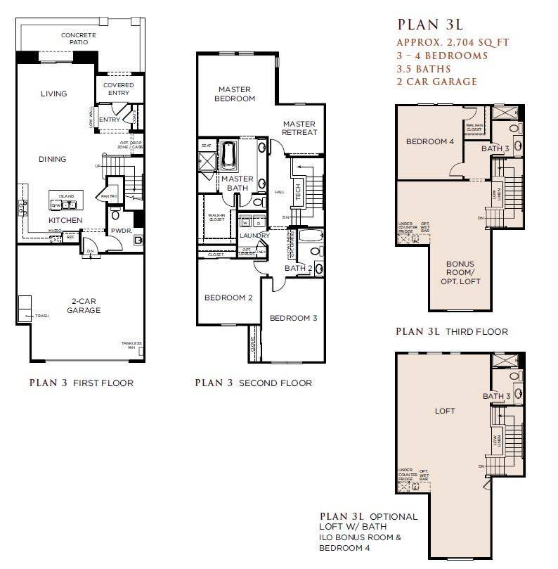 Floor Plans Detached Law Suite