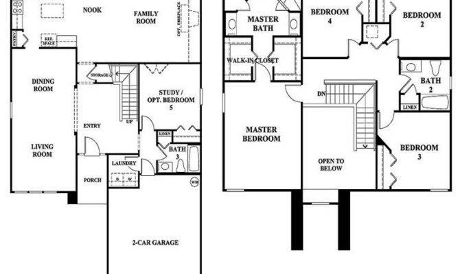 Floor Plans Garage First Plan Loft