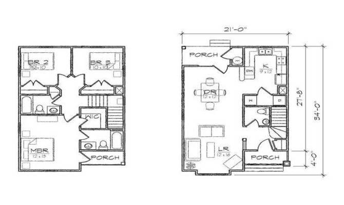 Floor Plans Garage Narrow Lot