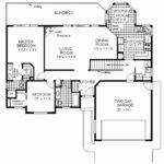 Floor Plans Houses Simple Ranch House Home