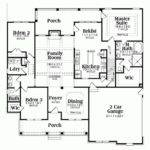 Floor Plans Ideas Southern Living House Blueprints