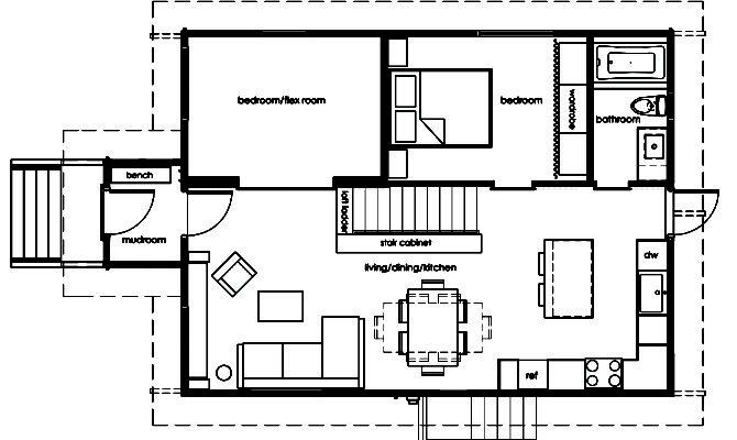 Floor Plans Living Room Frierson Dining