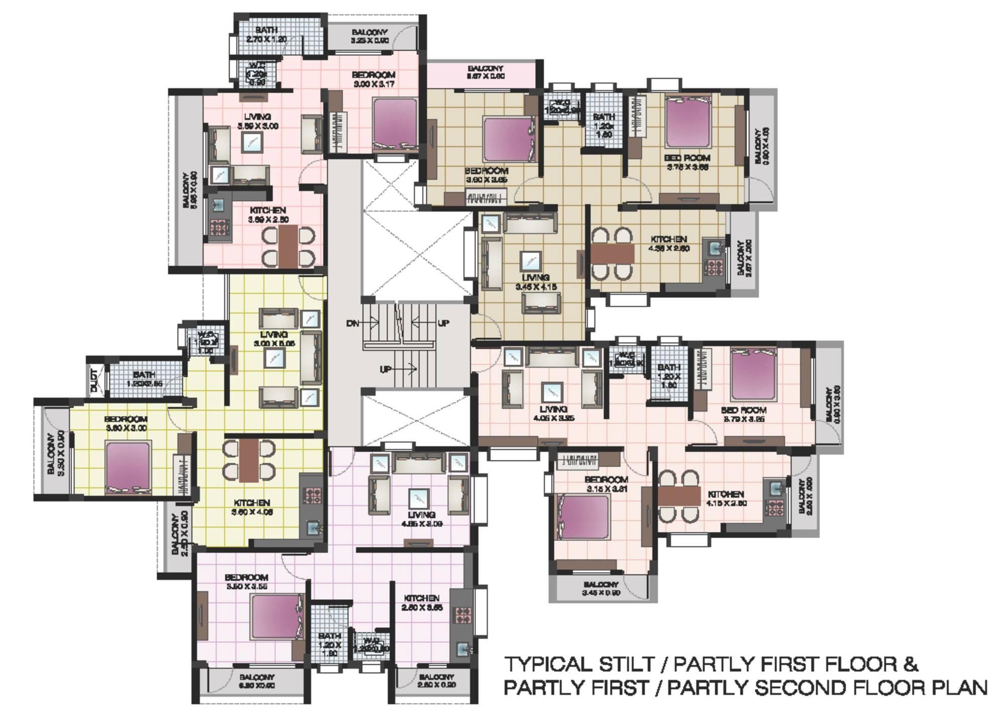 Floor Plans Loft Apartments Apartment Complex Clubhouse House Plans 85326