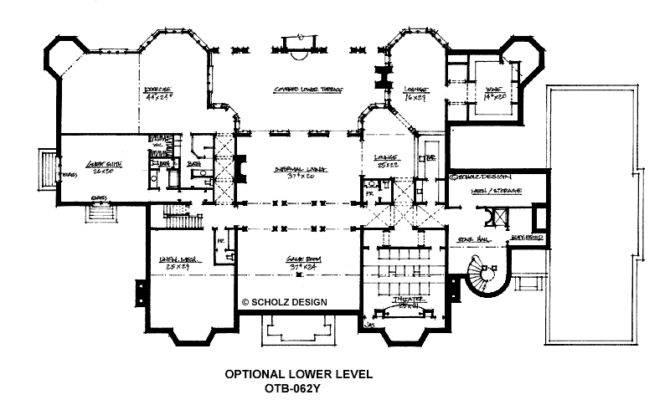 Floor Plans Mansion Home Design