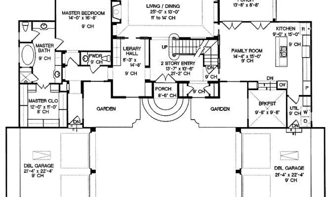 Floor Plans Mansions Print Plan