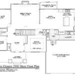 Floor Plans Master Main House