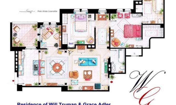 Floor Plans Most Famous Apartments