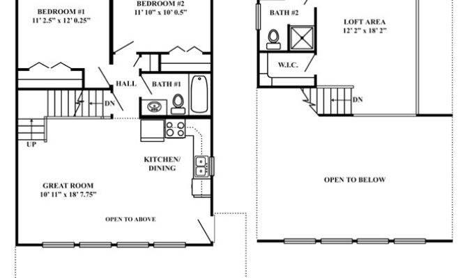 Floor Plans Mountain Chalet Return Vacation Series Plan
