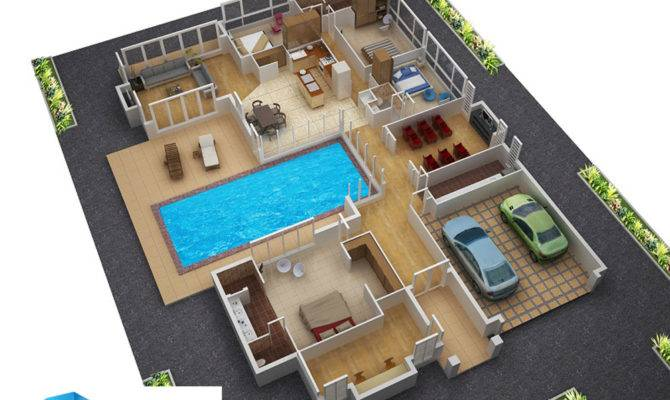 Floor Plans New Homes Architectural House Plan Home