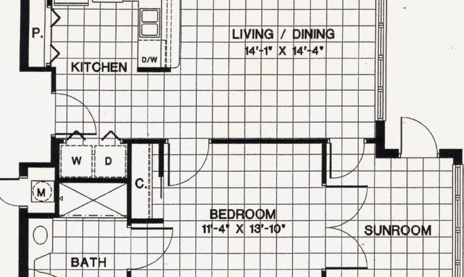 Floor Plans One Bedroom Apartment Include