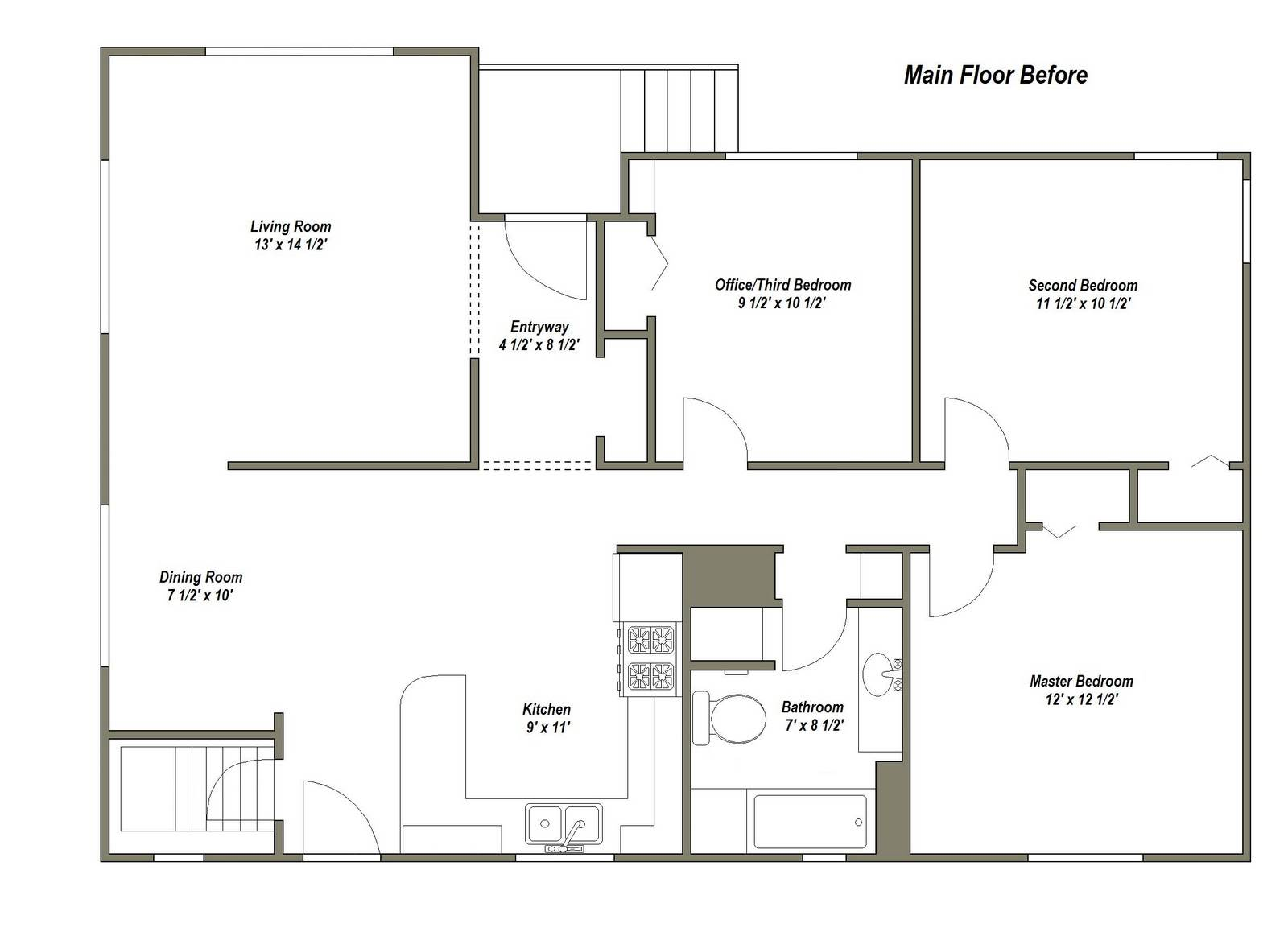 Floor Plans Perfect Small Office Business Home - House ...