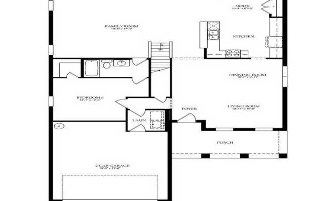 Floor Plans Popular Ranch Home