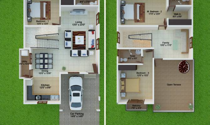 Floor Plans Prakruthi Villas Peninsula