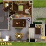 Floor Plans Sims Houses House