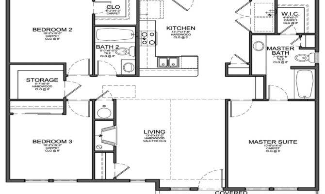 Floor Plans Small Bedroom House Review Design