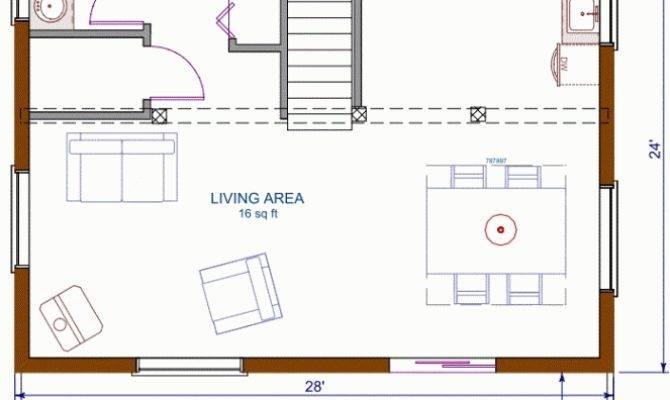 Floor Plans Small Homescool Open Concept