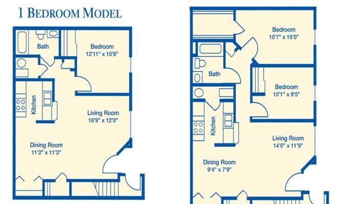 Floor Plans Summerview Apartments