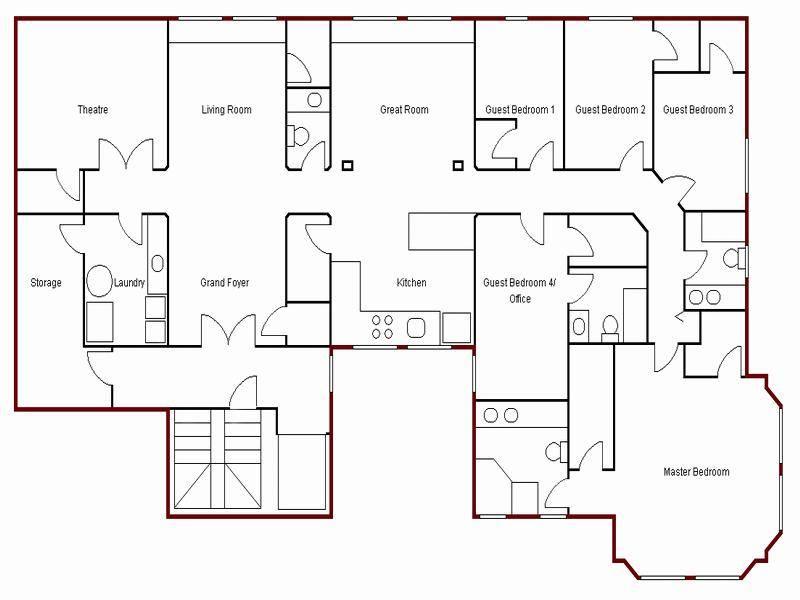 Floor Plans Your Home Apartment Church House Plans 60227