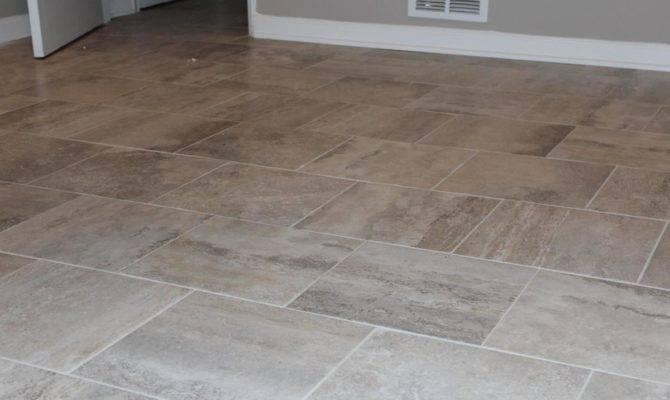 Floor Tile Patterns Improve Home Interior Look Traba