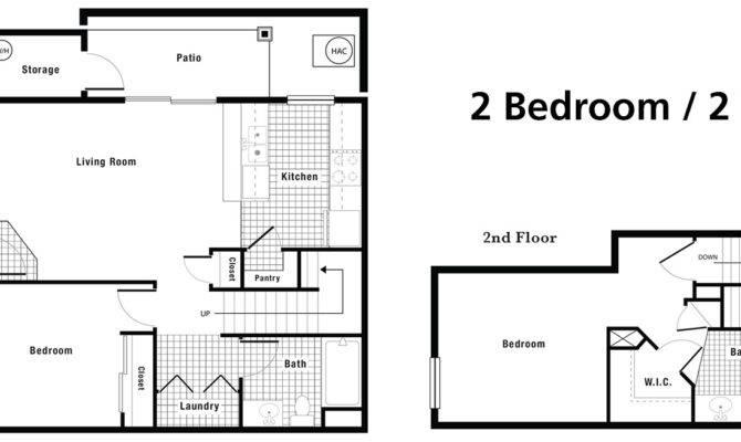 Floorplans Crystal Creek Town Homes
