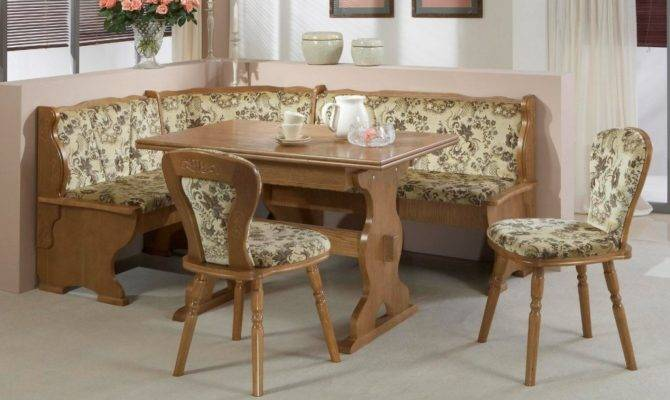 Floral Dining Booth Set Home