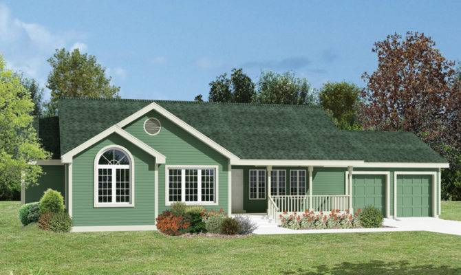 Florence Country Ranch Home Plan House Plans More