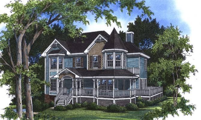 Florent Victorian Home Plan House Plans More
