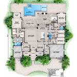 Florida Home Plans Pool Homes Floor