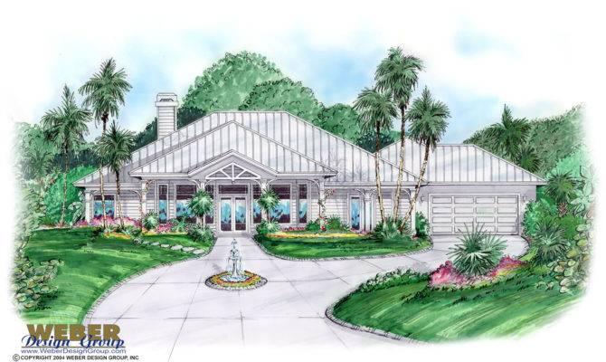Florida House Plan Aruba Weber Design Group